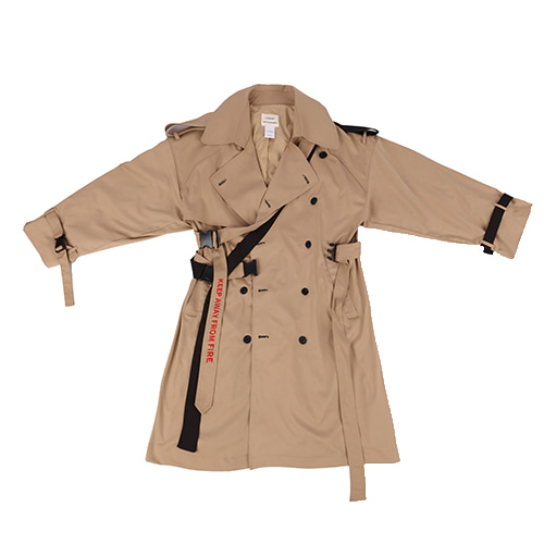 A-WENDE OVER TRENCH COAT  / BROWN
